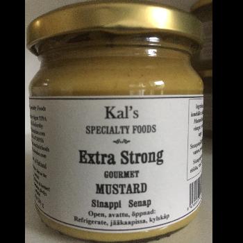 Extra strong sinappi, senap